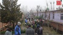 श्रीनगर में भयंकर आगजनी, कंपकंपाती ठंड में बेघर हुए कई परिवार