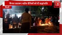 दिल्ली में शहीदों को श्रद्धांजलि, पाकिस्तान का पुतला फूंका
