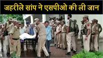 जहरीले सांप ने ली जम्मू-कश्मीर के एसपीओ की जान, पुलिस अधिकारियों ने दी श्रद्धांजलि