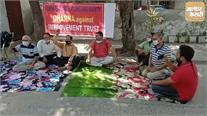 नाजायज़कब्ज़ोंको लेकर सूर्य एनक्लेव एक्सटेंशन वेलफेयर सोसायटी का प्रदर्शन