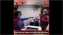 दिल्ली के डिप्टी CM ने डिस्ट्रिक्ट लेबर कार्यालय का किया निरीक्षण, काम ना होने पर लगाई क्लास