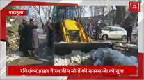 Srinagar से Tangmarg का रोड संपर्क फिर बहाल, लोगों ने ली राहत की सांस