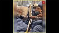 कोरोना वायरसः बुजुर्ग दंपत्ति का इमोशनल वीडियो वायरल