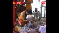 दक्षिण काली मंदिर पहुंच कर प्रदेश प्रभारी श्याम जाजू ने की पूजा अर्चना, चाइना पर विजय प्राप्त करने की मांगी दुआ
