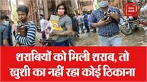 दिल्ली: पेटियां भरकर ले जा रहे शराब, पूछने पर जवाब- शराब के बिना जिंदगी नहीं