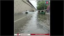 नहीं बदली तस्वीर, कुछ घंटों की बारिश से फिर पानी-पानी हुई दिल्ली