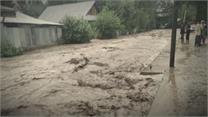 बांदीपोरा जिले के अलूसा और अष्टांगू गांव में आई बाढ़, कई घर क्षतिग्रस्त