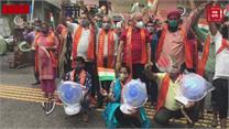 बिजली-पानी की किल्लत को लेकर डोगरा फ्रंट का विरोध प्रदर्शन, निकाली रोष रैली