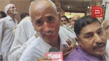 ब्राम्हण धर्मशाला में चुनाव के दौरान फैली अव्यवस्था, सुबह 9 बजे से बजुर्ग खड़े है लाइनों में