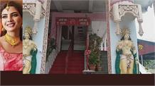 कोरोना ने  फिर से बंद कराए मंदिरों के कपाट, देखें भलेई  माता मंदिर की तस्वीरें