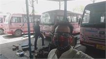 पानीपत: कोविड मरीजों के लिए रोडवेज की मिनी बसों को बनाया जा रहा है एंबुलेंस देखिए Live