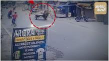बेक़ाबू घोड़े ने इस तरह ली थी शख्स की जान CCTV फुटेज आया सामने