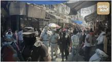 कोरोना से बचाव और जनता को समझाने सड़कों पर उतरे पंजाब पुलिस के कमांडो