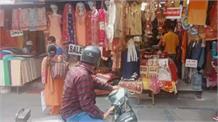 कोरोना कर्फ्यू से पहले मंडी के बाजार के हाल, खरीददारी को उमड़े लोग
