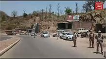 DIG मधुसूदन शर्मा ने किया पंजाब सीमा से सटे नाकों का निरीक्षण