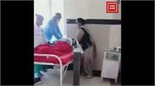 IGMC से आई डराने वाली तस्वीर, ऑक्सीजन ना मिलने से मरीज की हालत खराब, देखिए