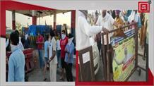 Farmers का फूटा गुस्सा,  Ambala और Bahadurgarh में टोल प्लाजा पर लगाया जाम