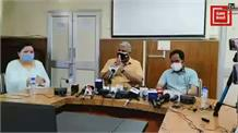 धर्मशाला में CU हिमाचल के कुलपति रोशन लाल शर्मा और कुलसचिव हेमराज की प्रेस वार्ता...