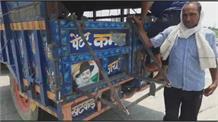 पंजाब की तर्ज पर जींद के Farmers  ने भी तैयार की स्पेशल ट्रॉलियां, पिकअप गाड़ियों से जोड़ किया कूच
