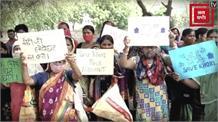 पैदल मार्च से पहले हिरासत में लिए गए सुशील गुप्ता, खोरी से पहुंचे ग्रामीण...बदरपुर बॉर्डर जाम