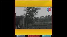 कुदरत का कहर, विभूतिपुर में एक ही जगह पर उठा भयंकर तूफान, 30 घर क्षतिग्रस्त
