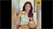 Shilpa Shetty ਦੀ ਇਹ ਵੀਡੀਓ ਦੇਖ ਤੁਹਾਡੇ ਵੀ ਮੂੰਹ 'ਚ ਆ ਜਾਏਗਾ ਪਾਣੀ