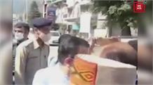 SP कुल्लू और CM के काफिले के बीच झड़प से पहले का Video आया सामने...