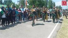 1971 युद्ध को 50 साल पूरे, सेना ने मनाई स्वर्ण जयंती, श्रीनगर पहुंची विजय मशाल