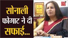 किसानों को 'लफंगे' कहने पर Sonali की सफाई, कहा- मैने भारत माता की फोटो तोड़ने वालों को कहा
