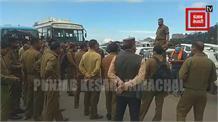 #Live:शिमला HRTC की आज भी हड़ताल,राज्यव्यापी हड़ताल की चेतावनी