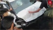 गांदरबल में दो वाहनों में हुई जोरदार टक्कर, 6 यात्री घायल