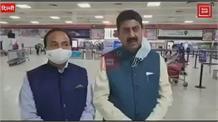दिल्ली दौरे पर कैबिनेट मंत्री राकेश पठानिया,सुनिए प्रदेश के किन मुद्दों पर हुई चर्चा