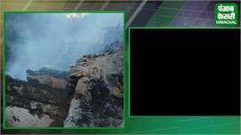 शिमला के चिड़गांव में भीषण अग्निकांड, 12...