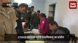 निकाय चुनाव 2018: कड़ाके की ठंड में...