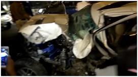 दिल्ली : तेज रफ्तार कार ने 8 लोगों को...