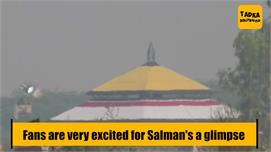 Salman Khan in city for shooting of...