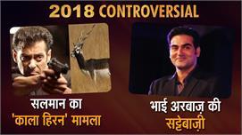 Salman Khan's Controversial 2018 ,...