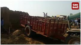 लखीमपुर में धड़ल्ले से चल रहा अवैध खनन...