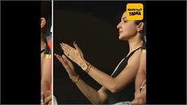 Anushka cheers for Virat Kohli