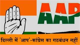 लोकसभा चुनाव : दिल्ली में 'आप'-कांग्रेस...