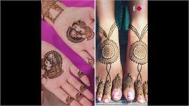 Simple Mehndi के यूनिक डिजाइन्स