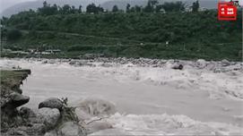 भारी बारिश से नदी में चला गया सौरभ वन...