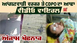 CDPO से बहस के बाद Anganwadi Worker ने...