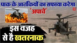 भारतीय वायुसेना में शामिल हुए 8 Apache...