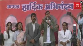 MP पहुंचे क्रिकेटर हरभजन सिंह, विराट को...