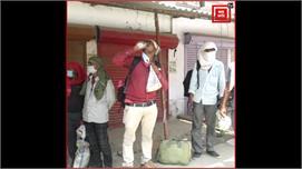 प्रयागराज: प्रवासी मजदूरों ने बयां का...
