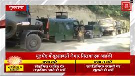 पुलवामा जिले के पंपोर इलाके में मारा...