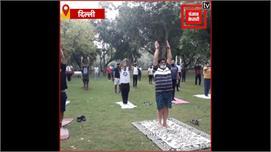 अंतर्राष्ट्रीय योग दिवस : बीजेपी सांसद...