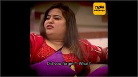 Viral Video में देखें जब डॉली ने श्वेता...