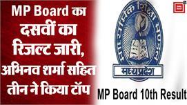 MP Board 10th Result 2020: एमपी बोर्ड...